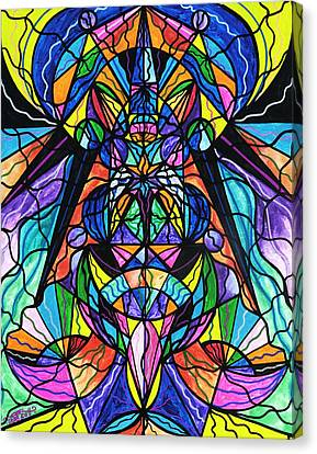 Revolutionary Canvas Print - Arcturian Awakening Grid by Teal Eye  Print Store