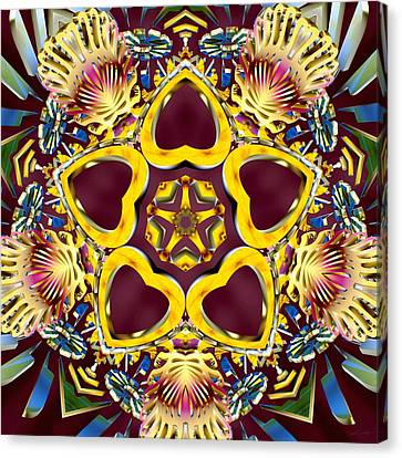 Arcturian Starseed Canvas Print by Derek Gedney
