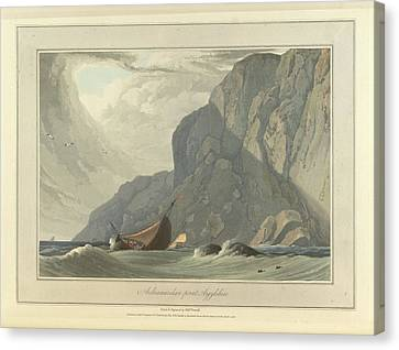 Ardnamurchan Point In Argyllshire Canvas Print by British Library