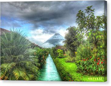 Arenal Canvas Print by Andrew Nourse