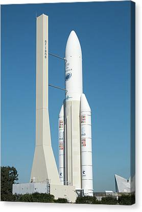 Ariane 5 Exhibit Canvas Print