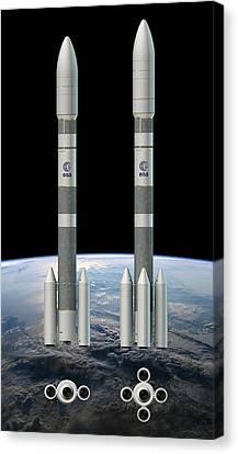 Ariane 6 Rockets Canvas Print by Esa-d.ducros