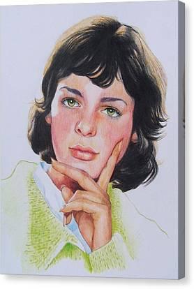 Ariane Canvas Print