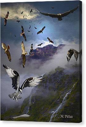 Ariel Carnavors Canvas Print
