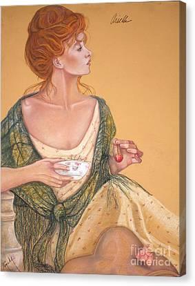Ariella Canvas Print