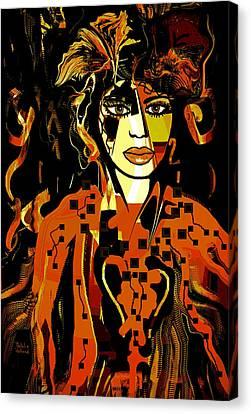 Arielle Canvas Print by Natalie Holland