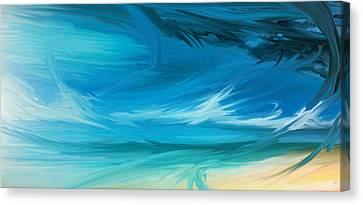 Aries Canvas Print by Josh Mackey