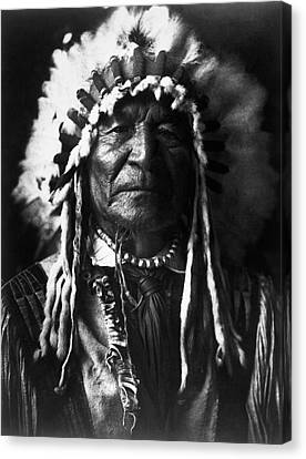 Arikara Chief, 1908 Canvas Print by Granger