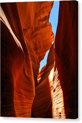 Canyon Canvas Print - Arizona - Antelope Canyon 008 by Lance Vaughn