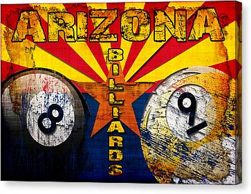 Arizona Billiards Canvas Print