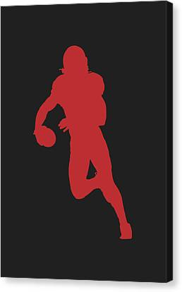 Arizona Cardinals Larry Fitzgerald Canvas Print by Joe Hamilton