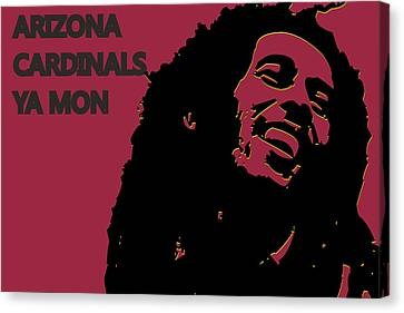 Arizona Cardinals Ya Mon Canvas Print by Joe Hamilton