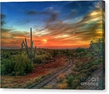 Arizona Heaven  Canvas Print