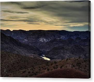 Arizona Landscape 001 Canvas Print by Lance Vaughn