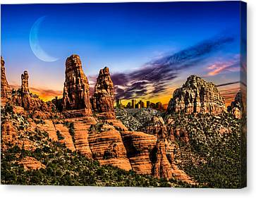 Arizona Life Canvas Print by Fred Larson