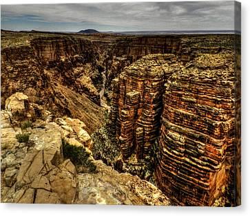 Arizona - Little Colorado River Gorge 003 Canvas Print by Lance Vaughn