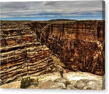 Arizona - Little Colorado River Gorge 005 Canvas Print by Lance Vaughn