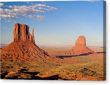 Terrain Canvas Print - Arizona Monument Valley by Anonymous