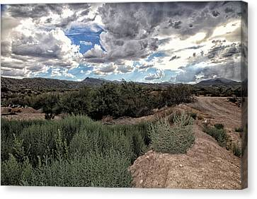 Arizona Rain Canvas Print by Joyce Isas