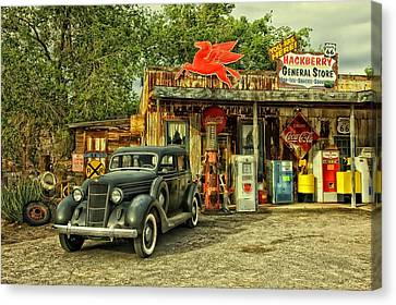 Arizona Route 66 Canvas Print