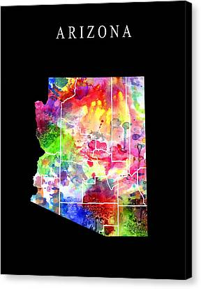 Arizona State Canvas Print by Daniel Hagerman
