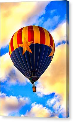 Arizonia Hot Air Balloon Special Canvas Print by Robert Bales
