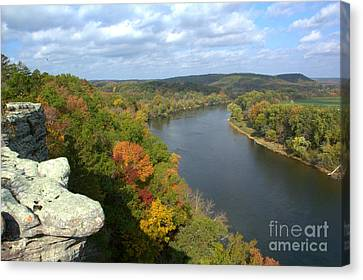 Canvas Print featuring the photograph Arkansas 1 by Jim McCain
