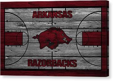 Razorbacks Canvas Print - Arkansas Razorbacks by Joe Hamilton