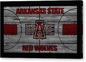 Arkansas State Red Wolves Canvas Print