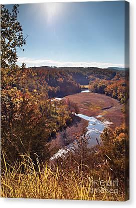 Arkansas Valley Canvas Print by Brandon Alms