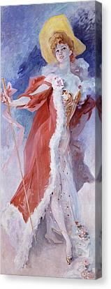Arlette Dorgere Canvas Print by Jules Cheret