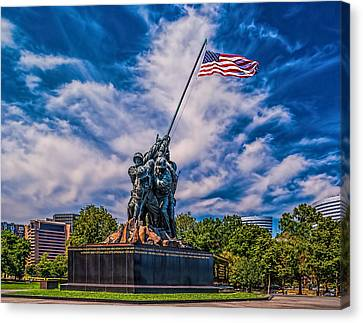 Arlington Marine Memorial Canvas Print
