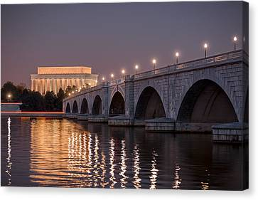 Arlington Memorial Bridge Canvas Print