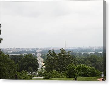 Arlington National Cemetery - 01136 Canvas Print by DC Photographer