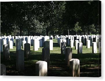 Arlington National Cemetery - 12121 Canvas Print by DC Photographer