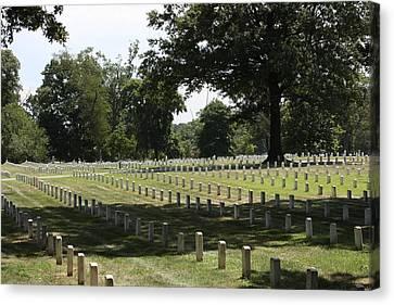 Arlington National Cemetery - 121221 Canvas Print by DC Photographer