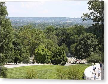 Arlington National Cemetery - 121234 Canvas Print by DC Photographer
