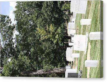 Arlington National Cemetery - 121236 Canvas Print by DC Photographer