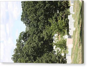 Arlington National Cemetery - 121239 Canvas Print by DC Photographer