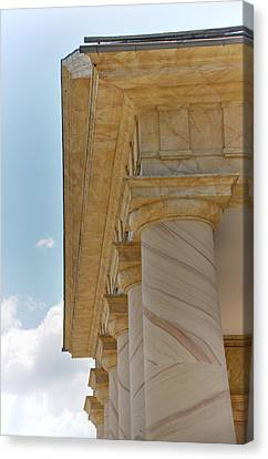 Arlington National Cemetery - Arlington House - 12121 Canvas Print by DC Photographer