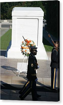 Arlington National Cemetery - Tomb Of The Unknown Soldier - 121213 Canvas Print