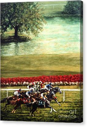 Kentucky Horse Park Canvas Print - Arlington Park by Thomas Allen Pauly