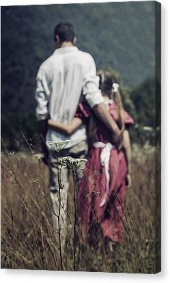 Arm In Arm Canvas Print by Joana Kruse