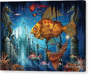 Armada Canvas Print by Ciro Marchetti