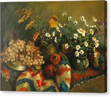 Armenian Still-life Canvas Print by Tigran Ghulyan