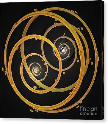 Armillary By Jammer Canvas Print by First Star Art