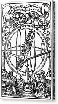 Cosmology Canvas Print - Armillary Sphere, 1514 by Granger