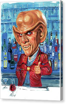 Armin Shimerman As Quark Canvas Print by Art