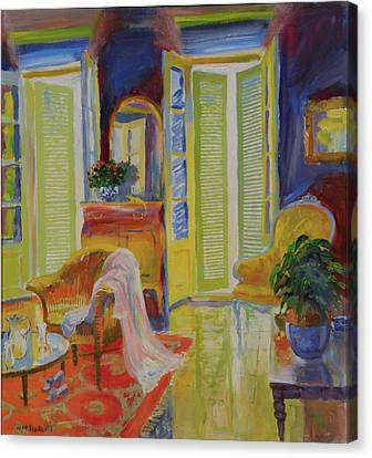 Armoire, 20078 Oil On Board Canvas Print