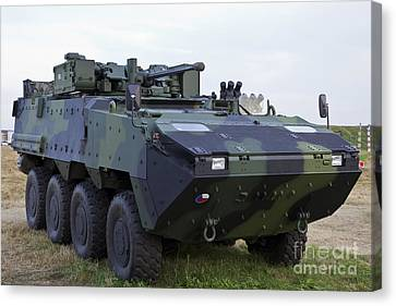Armored Vehicle Of The Czech Army Canvas Print